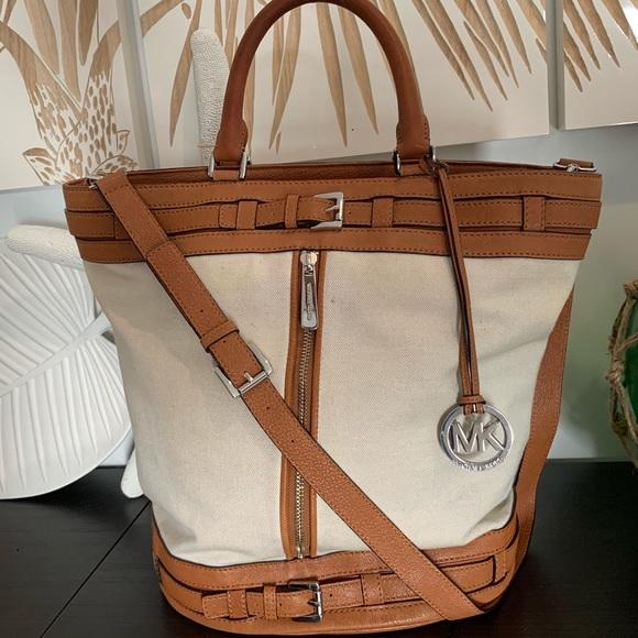 d4491aca61ef MICHAEL Michael Kors Bags | Michael Kors Xl Kingsbury Bucket Bag ...